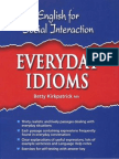 Alex and His Everyday Idioms