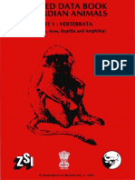 The Red Data Book on Indian Animals