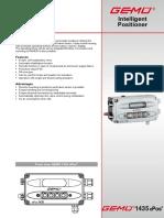 Control Electrónico Válvula GEMU Db_1435_gb