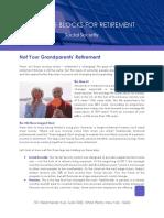 Not Your Grandparents Retirement