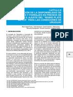 ESTIMACIÓN DE LA DISPONIBILIDAD DE PASTURAS Y FORRAJES EN PREDIOS DE GIPROCAR II