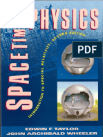Spacetime Physics - Taylor, Wheeler