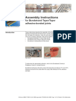 Assembly Instructions for Taper Joints