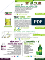 Folleto Productos
