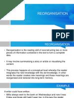 Reorganisation