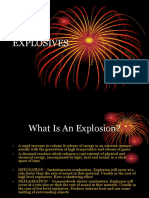 Classification of Explosives