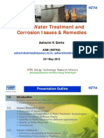 Water Treatment and corrosion issues.