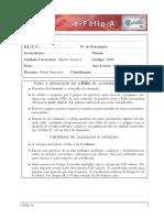 EfolioA 21002 22nov2013 - Algebra