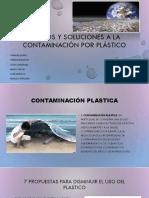 Contaminacion Por Plastico.