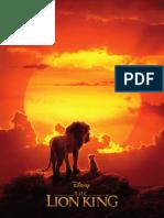 The Lion King Press Kit
