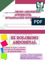 Apendicitis, Invaginación Intestinal, Sx doloroso abdominal.pptx