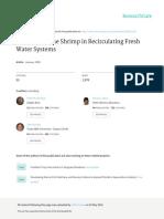 Farming Marine Shrimp in Recirculating Freshwater Systems VanWyk Etal 1999