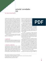 Hipertension arterial review 2019