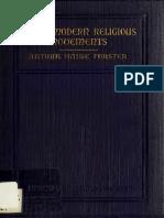 Arthur H.forster - Four Modern Religious Movements - 1919 (Ing)