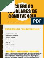 ACUERDOS ESCOLARES DE CONVIVENCIA.ppsx