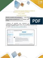 Anexo 1-Etapa 0 Reconocimiento General. Relaciona Modelo de Formación y El Perfil Del Psicólogo