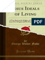 Jesus Ideals of Living - George Fiske
