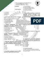 S4-Subiecte-27.10.2018-Brasov-Chirurgie Generală, Urologie, Pediatrie, Ginecologie, Reumatologie