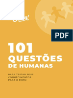 101 Questões de Humanas - Me salva