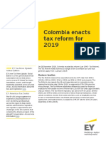 Colombia tax reform