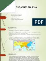 Religiones en Asia