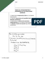 Cap 2 Estequiometria y Termodinámica Aplicada a Reactores