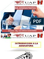 INTRODUCCION - AUDITORIA ADMINISTRATIVA