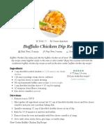 Buffalo Chicken Dip Recipe - Add a Pinch