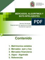 Mercados, algoritmos y bots inteligentes