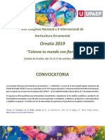 Convocatoria Congreso Amehoac Puebla 2019