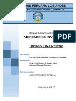 Monografia de Riesgo Financiero