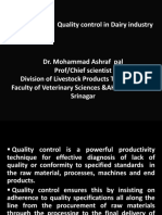 Importance of Quality Control in Dairy Industry