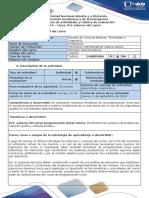 Guia de actividades y rúbrica de evaluación - Pre - tarea. Pre saberes del curso.docx