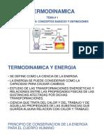 Termodinamica Tema 1 y Tema 2