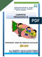 Carpeta Pedagogica 2019 Aquino