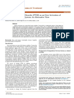 Post Traumatic Stress Disorder Ptsd as an Over Activation of Sympathetic Nervous System an Alternative View 2167 1222.1000181