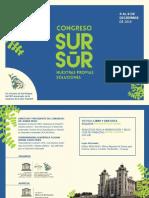 Congreso Sur Sur - 4 al 6 de Diciembre 2019 - Montevideo, Uruguay