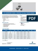 Product Data Sheet Cvs Hardwired Constant Voltage Transformers en Us 163816