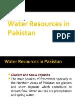 2 WaterResources Pakistan 2