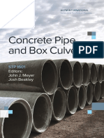 Concrete Pipe and Box Culverts
