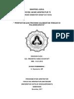 Perpustakaan Provinsi Kalimantan Tengah Di Palangkaraya