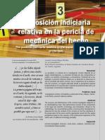 Articulo13 La Posicion Indiciaria Relativa en La Pericia de Mecanica Del Hecho