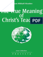 True meaning of Christ's Teachings