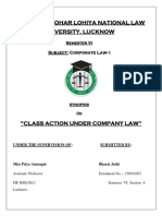 Corporate Law Synopsis