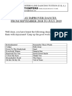 class dances 2019
