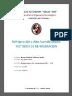197525813 Metodos de Refrigeracion