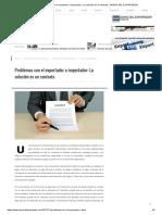 Problemas Con El Exportador o Importador_ La Solución Es Un Contrato - DIARIO DEL EXPORTADOR