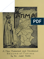 The Story of Fatima, A New Historical and Devotional Résumé of Fatima. by Fr. Joseph Cacella, Imprimatur 1949