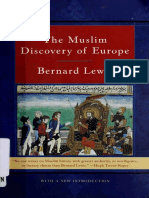 The Muslim Discovery of Europe - Bernard Lewis