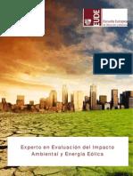 Curso Experto Evaluacion Impacto Ambiental y Energia Eolica